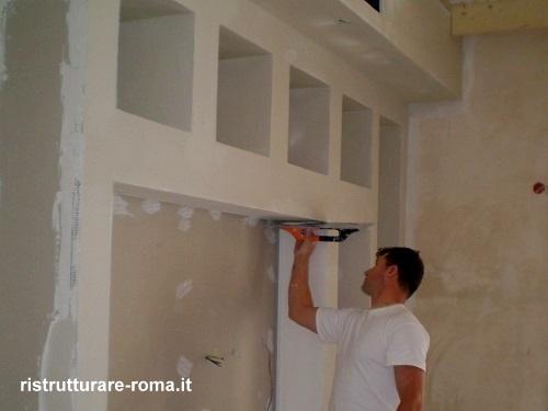 Montaggio Mobili in Cartongesso Roma, Fornitura/Posa | Montaggio ...